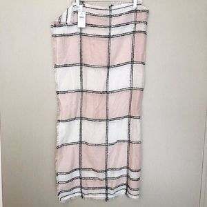 J. Jill Other - J. Jill Rectangle Scarf with fringe edge - NWT $49